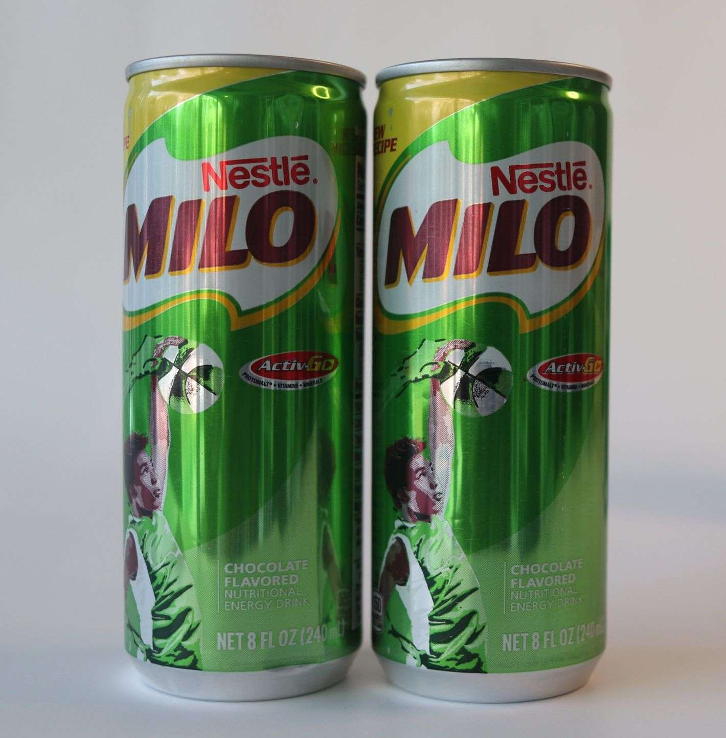 Milo Chocolate Flavored Canned Drink